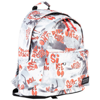 Rip Curl Delivery Sac à dos Double Dome White