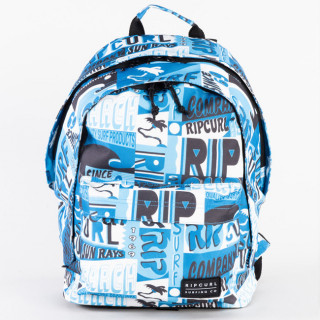 Rip Curl Delivery Sac à dos Double Dome White Blue