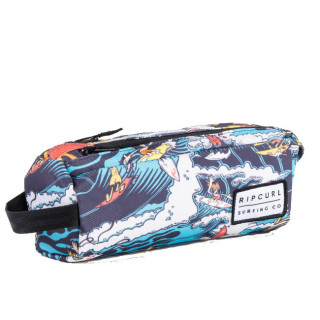 Rip Curl Comic Surf Trousse Double Compartiment White