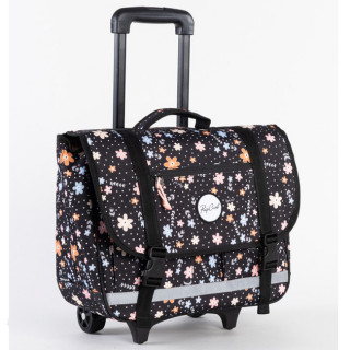 Rip Curl Back To School Cartable à roulettes Filles Flowers Black