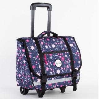 Rip Curl Back To School Cartable à roulettes Filles Flowers Purple