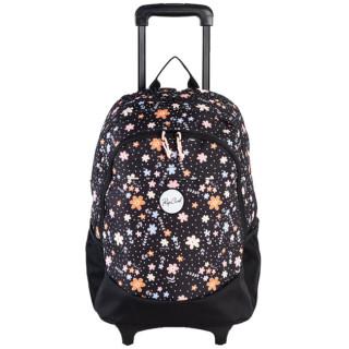 Rip Curl Back To School Flowers Sac à roulettes Black