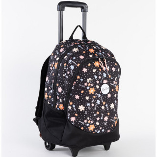 Rip Curl Back To School Flowers Sac à roulettes Black
