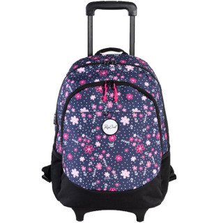 Rip Curl Back To School Flowers Sac à roulettes Purple