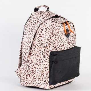 Rip Curl Back To School Léopard Double Dome Sac à Dos Beige