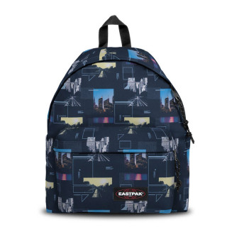 Eastpak Padded Sac à Dos Pack'R c55 Shapes Blue
