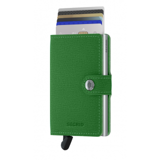 Secrid Porte-Carte Miniwallet Crisple Light Green