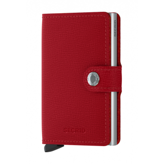 Secrid Porte-Carte Miniwallet Crisple Red