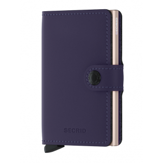 Secrid Porte-Carte Miniwallet Matte Purple Rose