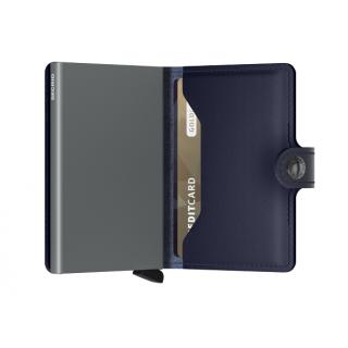 Secrid Porte-Carte Miniwallet Metallic Blue