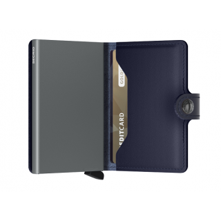 Secrid Porte-Carte Miniwallet Metallic Blue