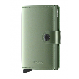 Secrid Porte-Carte Miniwallet Metallic Green