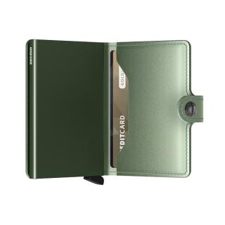 Secrid Porte-Carte Miniwallet Metallic Green