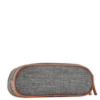 Cameleon Trousse Double Vintage Print Boy Grey Wolf