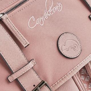 Caméléon Vintage Print Girl Cartable 41cm Old Pink Petal face