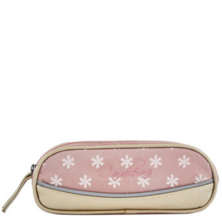 Cameleon Trousse Double Vintage Print Girl Gold Flowers