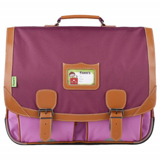 Tann's Iconic Cartable 41cm Violet/Parme