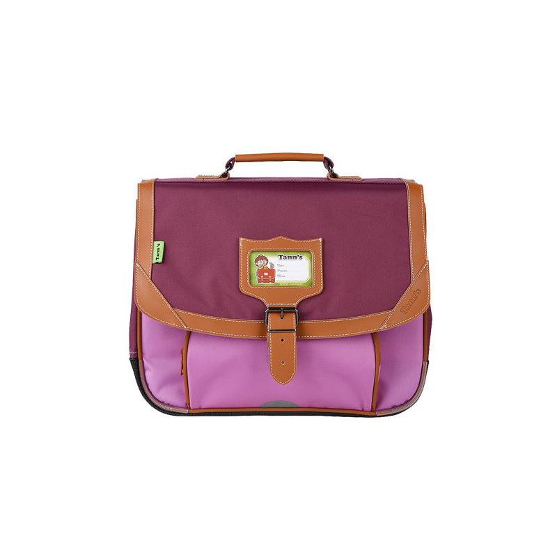 Tann's Iconic Cartable 35cm Violet/Parme