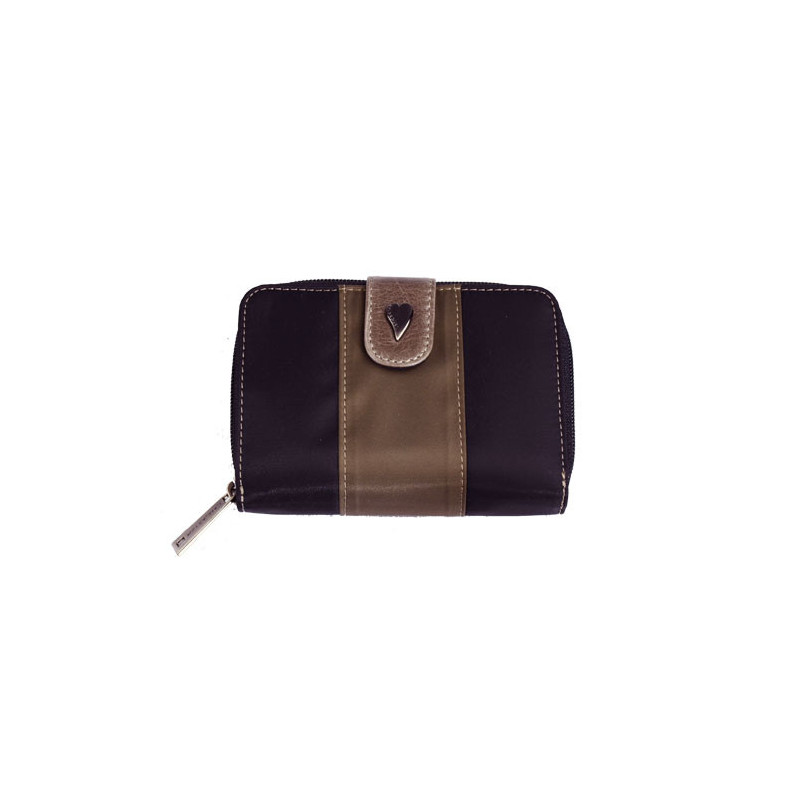 Lancaster Basic et Sport Portefeuille 1003-Noir Multi