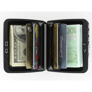 wallet Silver Wallet Secure Code Card Door Ogon
