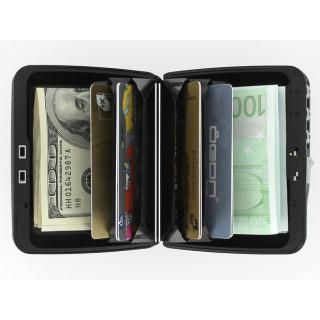 Ogon Porte Cartes Code Sécurisé Wallet Silver