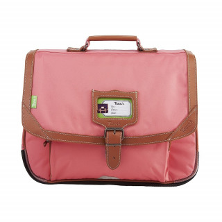 Tann's Incontournables Cartable 38cm Rose Corail