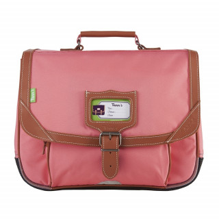 Tann's Incontournables Cartable 35cm Rose Corail