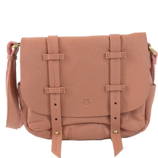 Mila Louise Bess Cuir Triband Sac Porté Travers Magnolia