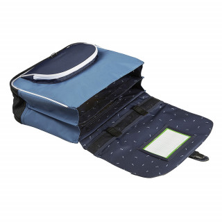Tann's Bleu de Prusse Cartable 38cm Bleu ouvert
