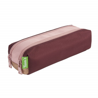Tann's Palermo Trousse Double Bordeaux Rose