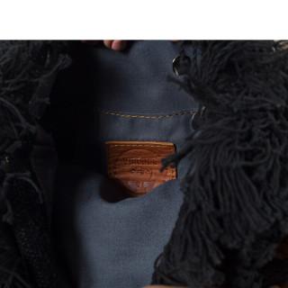 Virginie Darling Clutch Elena Chic Black Velvet
