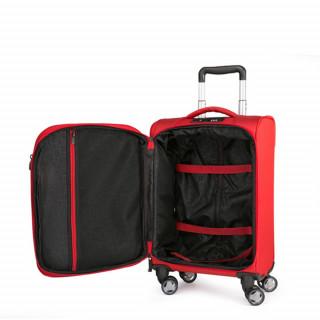 Jump Moorea Soft Suitecase Extendable Cabin 4 Pepper Wheels