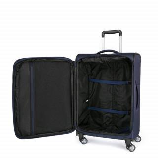 Jump Moorea Soft Suitecase Flexible 76cm Extensible 4 Marine Wheels