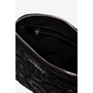 Desigual Deia Mini Sac Bandoulière Mandalas Noir