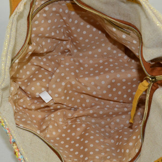 Mila Louise Pearline CT4 sac Cabas Jaune