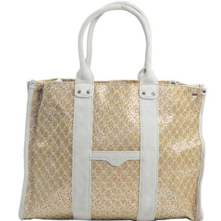 Mila Louise Prudence Blé 1 Sac Shopping Beige Clair