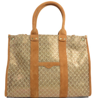 Mila Louise Prudence Blé 1 Sac Shopping Camel