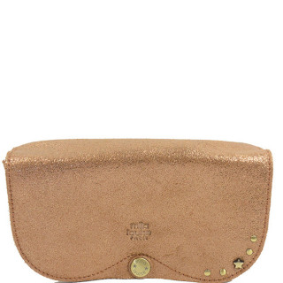 Mila Louise Etui a Lunettes Ossip X Mix Cuir Camel