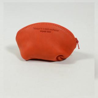 JL Fourès Baroudeuse Porte Monnaie Bourse Orange dos