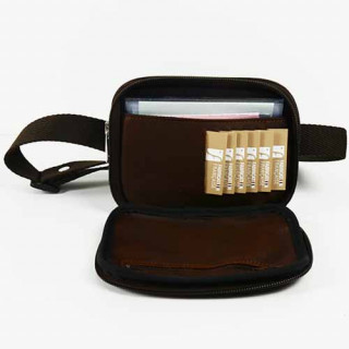 Jean Louis Fourès Baroudeur Pocket Cognac Belt