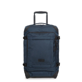 Rolling luggage Eastpak Tranverz navy blue
