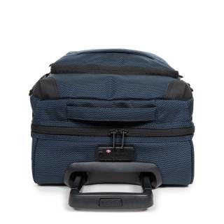 Rolling luggage Eastpak Tranverz navy blue