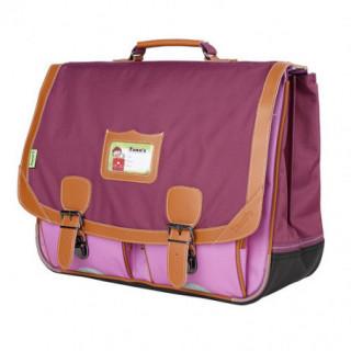 Tann's Iconic Cartable 41cm Violet/Parme biais