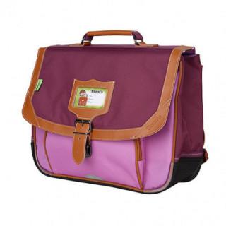 Tann's Iconic Cartable 35cm Violet/Parme biais