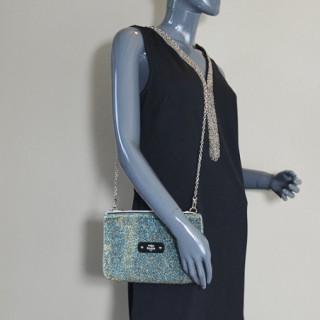 Mila Louise Natasha Spark Sac et Pochette Bleu porté