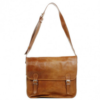 "Paul Marius Lasacoche L Sac Cartable pour pc 15"" Naturel"