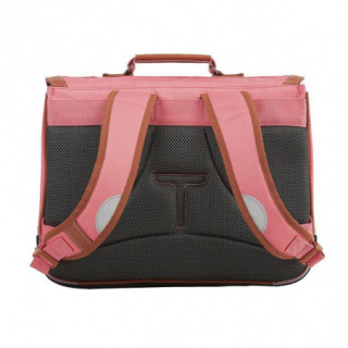Tann's Incontournables Cartable 38cm Rose Corail dos