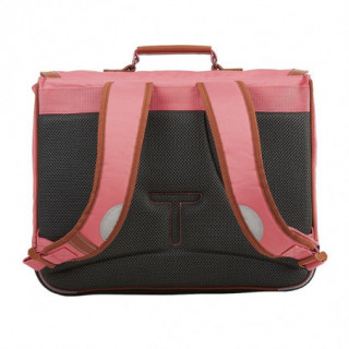 Tann's Incontournables Cartable 41cm Rose Corail
