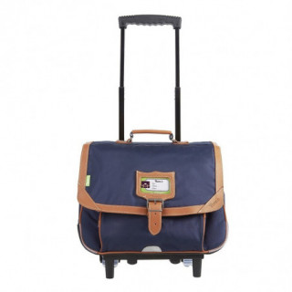 Tann's Incontournables Cartable Trolley 38cm Bleu