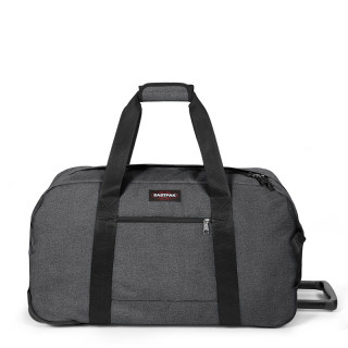 eastpak wheeled black duffle bag